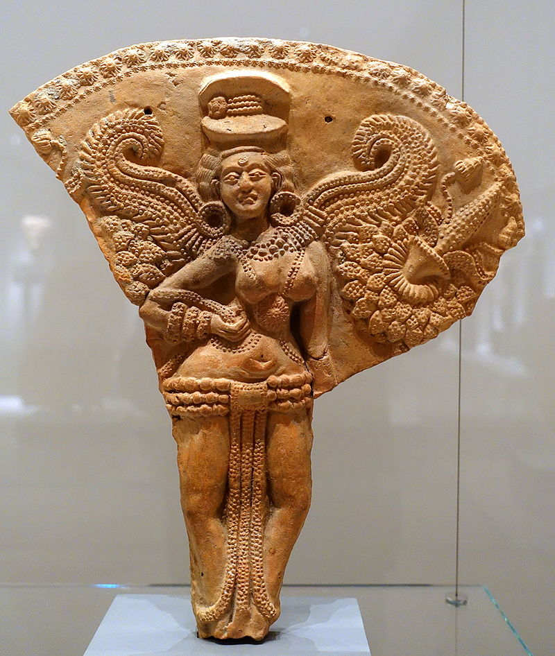 800px-Winged_female_deity,_Chandraketugarh,_India,_2nd-1st_century_BC,_terracotta,_view_1_-_Ethnological_Museum,_Berlin_-_DSC01683 (1)