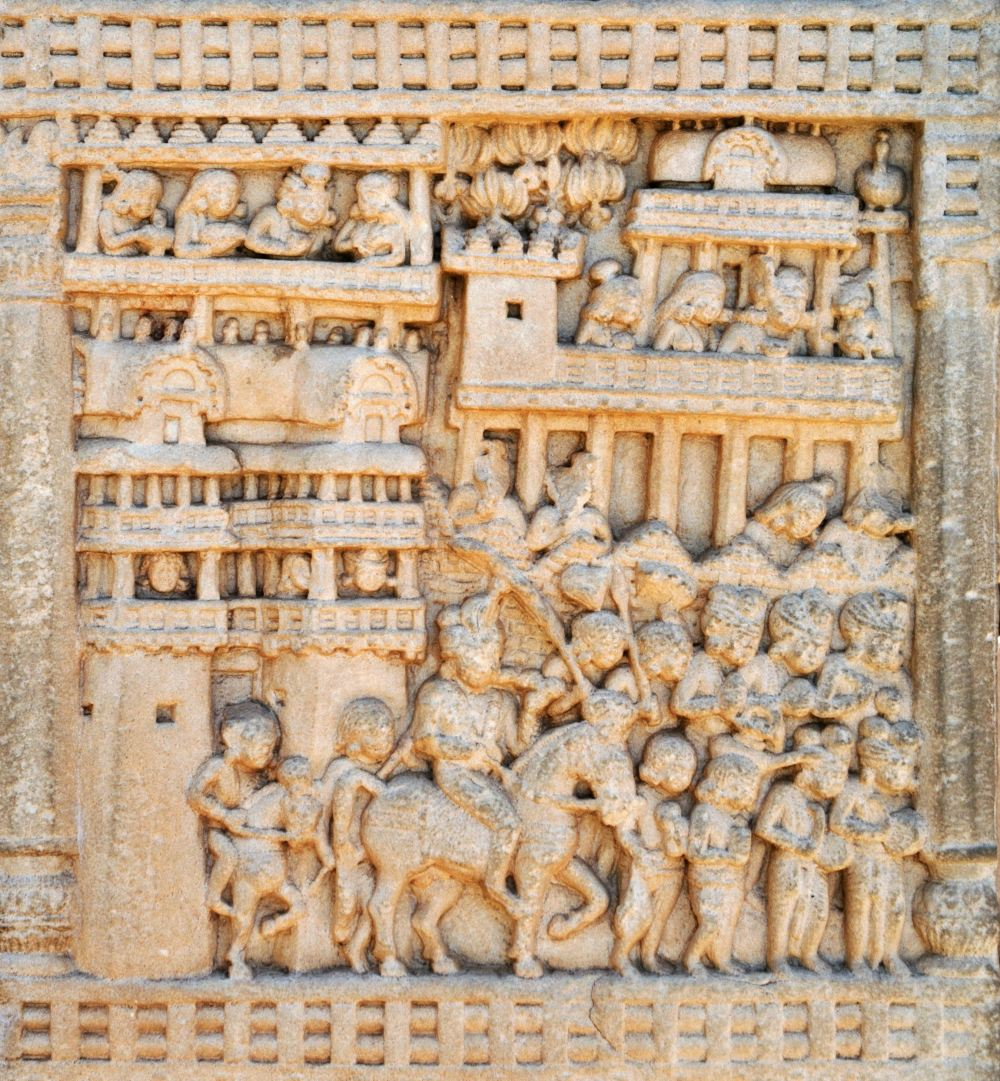 Procession_of_Prasenajit_of_Kosala_leaving_Sravasti_to_meet_the_Buddha