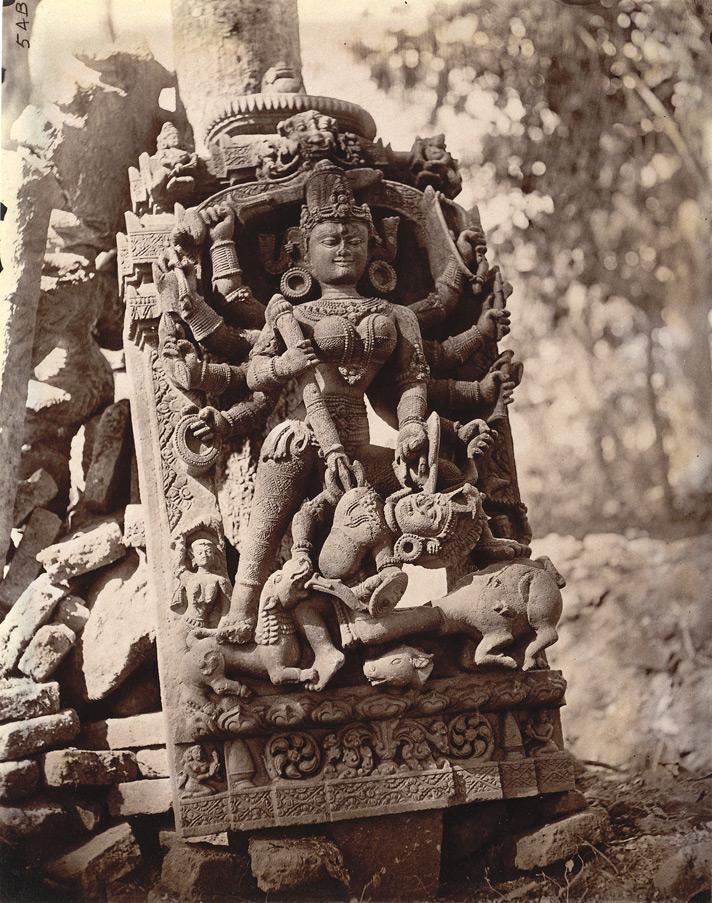 Statue_of_Durga_slaying_Mahisasura,_Dulmi,_Manbhum_district_in_1872-73