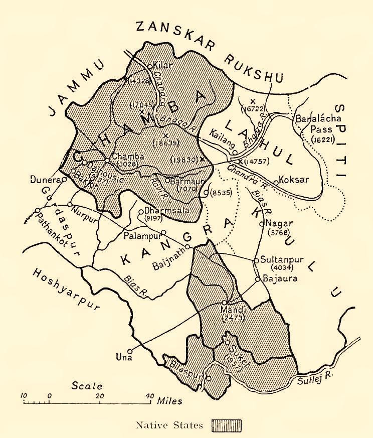 Chamba_Kangra_Bilaspur_Mandi_Kulu_1911